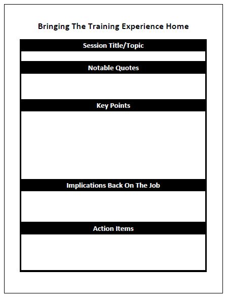 conference report template word
